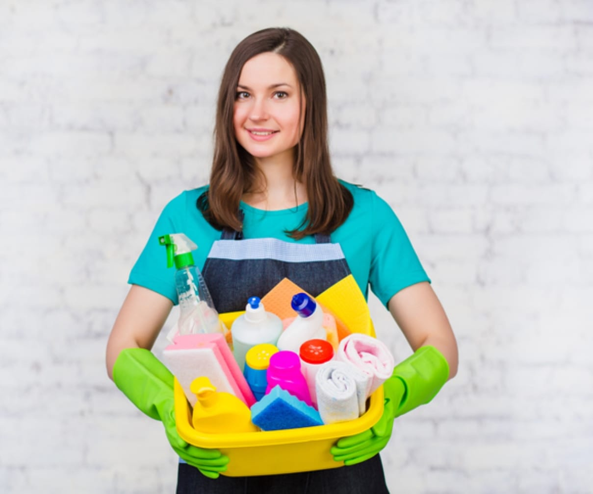 Your choice of traditional or green cleaning products.